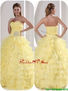 Exclusive Ball Gown Sweet Sixteen Dresses with Appliques