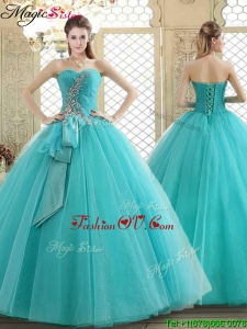Lovely Sweetheart Quinceanera Dresses with Beading and Paillette