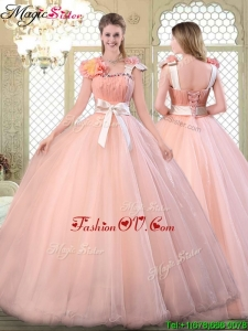 Beautiful Asymmetrical Quinceanera Dresses with Bowknot for 2016