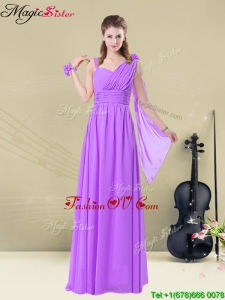Best Empire Straps Ruching Bridesmaid Dresses for Fall