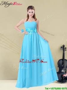 Gorgeous Sweetheart Empire 2016 Prom Dresses with Belt