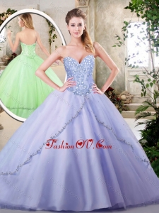 Beautiful Lavender Quinceanera Dresses with Appliques