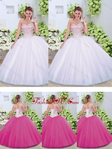 Best Ball Gown Sweetheart Quinceanera Dresses with Beading