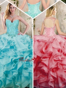 Best Ruffles Quinceanera Dresses with Appliques