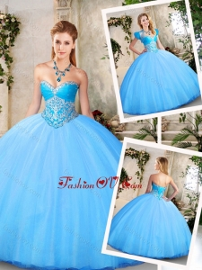 Best Sweetheart Quinceanera Dresses with Beading
