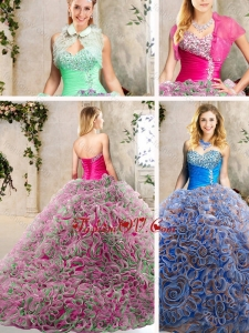 Classical Sweetheart Quinceanera Dresses with Beading and Ruffles
