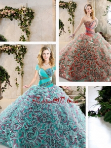 Hot Sale Beading and Ruffles Quinceanera Dresses with Sweetheart