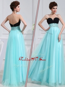 2016 Low Price Empire Sweetheart Beading Dama Dresses for Evening