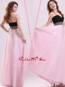 2016 Cheap Empire Sweetheart Beading Homecoming Dress in Baby Pink