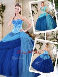 Beautiful Sweetheart Beading Quinceanera Gowns for Fall