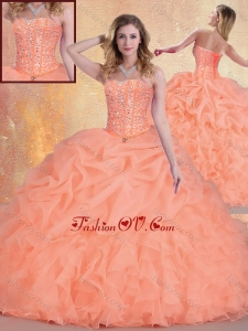 New Arrivals Sweetheart Quinceanera Gowns with Ruffles and Pick Ups