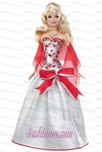 Elegant Grey Party Dress with Special Made to Fit the Barbie Doll