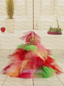 Beautiful Princess Party Clothes Colorful Barbie Doll