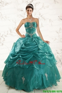 Best New Style Ball Gown Sweet 16 Dresses with Appliques