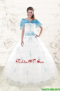 White Best Ball Gown Discount Pretty Quinceanera Dresses