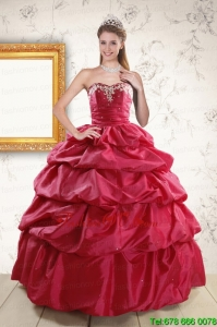 Appliques Classic Hot Pink Quinceanera Dresses with Lace Up