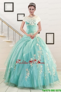 Ball Gown Sweetheart Pretty Quinceanera Dresses with Appliques