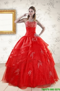 Most Popular Strapless Sweet Sixteen Dresses for 2015