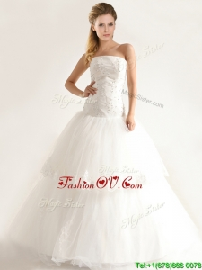 Plus Size Stylish Mermiand Wedding Dresses with Appliques and Beading