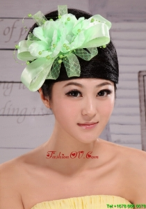 Lovely Taffeta and Tulle Beading Women Fascinators For Party