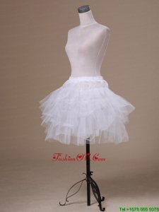 Lovely Tulle Mini Length Girls Petticoat