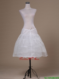White Tulle Mini Length Petticoat