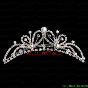 Beautiful Butterfly Tiara With Rhinestone Adorned