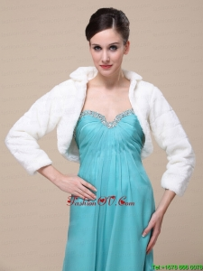 Elegant Special Occasion Wedding / Bridal Jacket With Long Sleeves