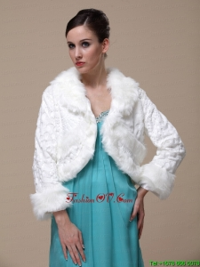 Gorgeous and Long Sleeves For Special Occasion / Wedding Shawl Jacket