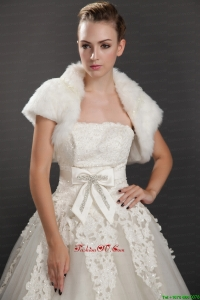 Rabbit Fur Special Occasion Short Sleeves Jacket