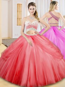 Sleeveless Criss Cross Floor Length Beading and Ruching and Pick Ups Quinceanera Gown