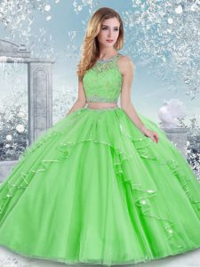 Low Price Floor Length Clasp Handle Sweet 16 Dress for Military Ball and Sweet 16 and Quinceanera with Beading and Lace