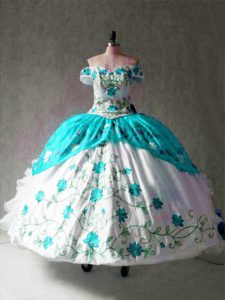Popular Floor Length Ball Gowns Cap Sleeves Multi-color Quinceanera Dresses Lace Up
