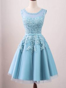 New Style Sleeveless Lace Zipper Quinceanera Court Dresses