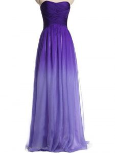 Multi-color Prom Party Dress For with Ruching Sweetheart Sleeveless Lace Up