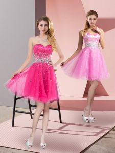 Sleeveless Beading Zipper Club Wear