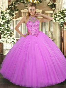 High Class Sleeveless Beading Lace Up Quinceanera Dresses