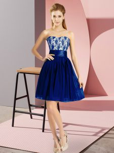 Gorgeous Sweetheart Sleeveless Chiffon Prom Dresses Lace Zipper