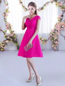 Fitting V-neck Cap Sleeves Lace Dama Dress for Quinceanera Lace Lace Up