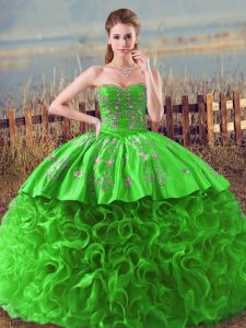 Top Selling Quinceanera Gown Sweetheart Sleeveless Lace Up