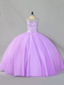 Sleeveless Sequins Zipper Vestidos de Quinceanera