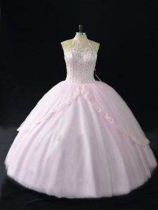 Sleeveless Beading and Appliques Quinceanera Dresses