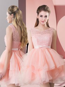 Modern Organza Sleeveless and Lace