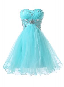 Low Price Sleeveless Beading Lace Up Prom Party Dress