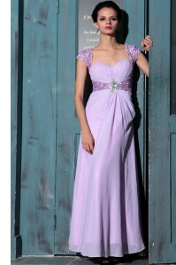 Sweetheart Sleeveless Organza Homecoming Dress Beading Zipper