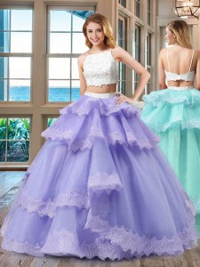 Dynamic Straps Sleeveless Tulle Quince Ball Gowns Beading Backless