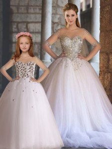Attractive Sleeveless Appliques Lace Up Sweet 16 Quinceanera Dress