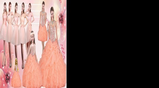 Orange Sleeveless Floor Length Beading and Ruffles Lace Up Prom Party Dress